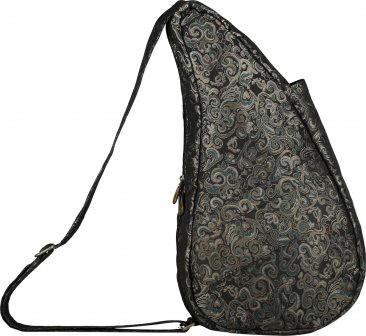 Ameribag Black Fleur Healthy Back Bag