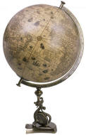 Dragon decorative world globe