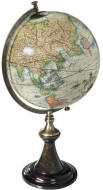 Mercator desktop world globe