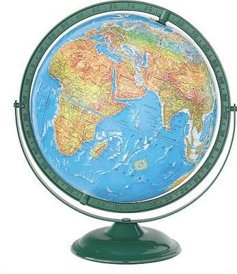 Tulane World Globe - Globe elevation