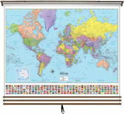 North Carolina World Map.North Carolina Wall Maps