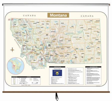 Montana State Maps