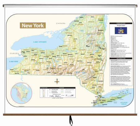 New York State Maps (Free Shipping)