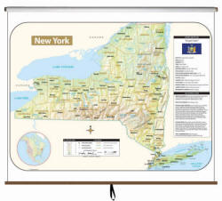 New York State Maps Free Shipping