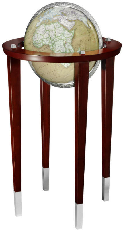 The McKinley World Globe Features A Stylish Contemporary Design Combined  With A Color Palette Unique To Discovery Expedition Globes.