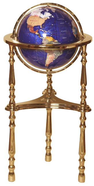 gemstone floor globe floor matttroy