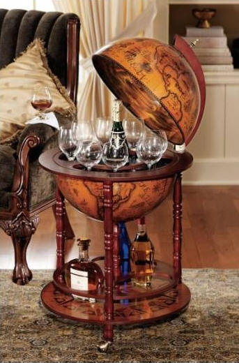 Portable Globe Bar