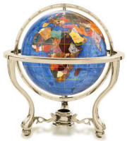 Gemstone floor and desktop globes and world maps free shipping available in additional globe ocean colors gumiabroncs Image collections