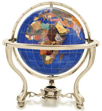 Commander commander gemstone world globe caribbean blue free shipping gumiabroncs Image collections