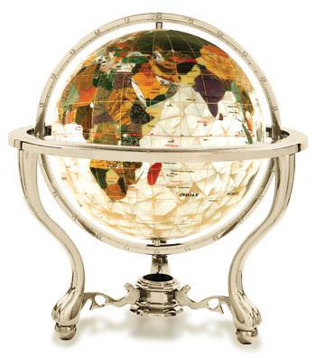 Commander commander gemstone world globe diamond cut mother of pearl free shipping gumiabroncs Image collections