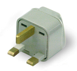 Grounded Adapter Plug Great Britain Africa