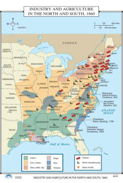 Us History Wall Maps Of Civil War To Recosntruction Era Free Shipping - Map-of-the-us-civil-war