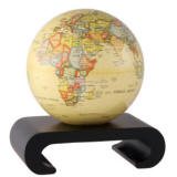 Mova spinning globe on balck arch base