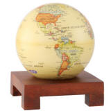 Mova spinning globe on square base
