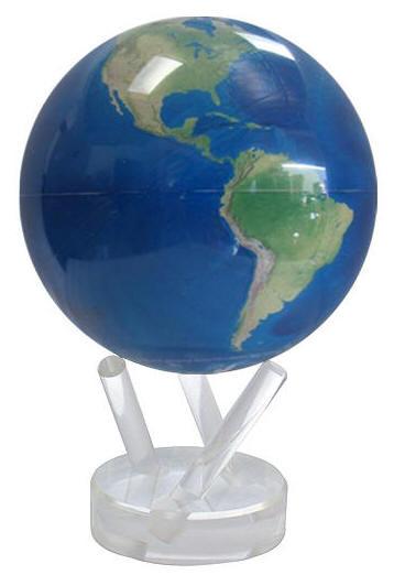 Mova Globe Solar Power Satellite Natural Earth Free