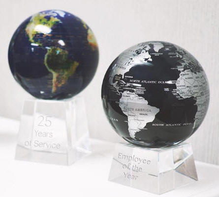 mova spinning globe solar powered revolving earth free shipping