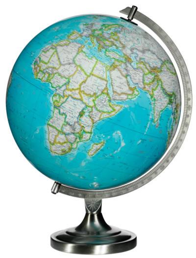 Bartlett National Geographic Illuminated Desktop World Globe Free