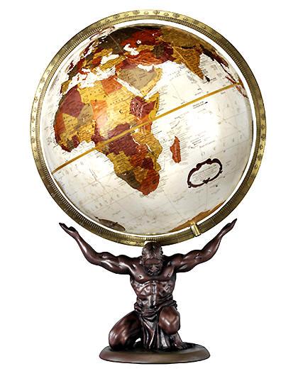 Atlas replogle world globes free shipping bronze metallic map unique desktop world globe gumiabroncs Choice Image