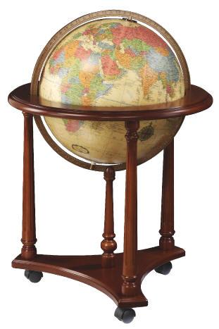 Lafayette Illuminated Floor Stand World Globe By Replogle Globes Free Shipping