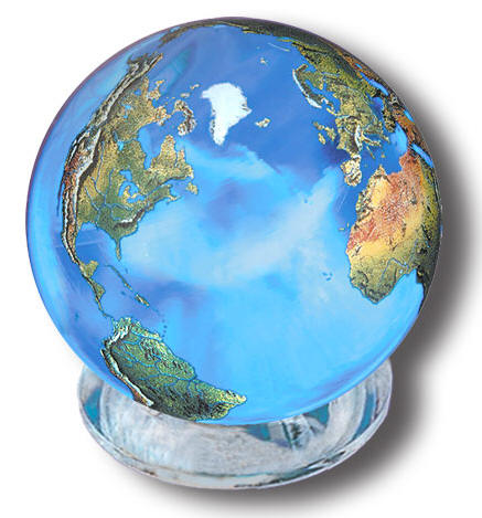 Crystal Earth Sphere
