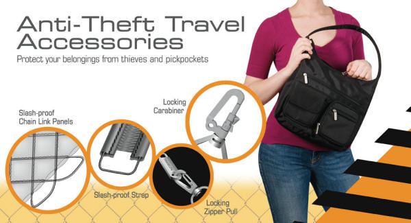 21db46a9175f Secure Anti-Theft Travel Bags *