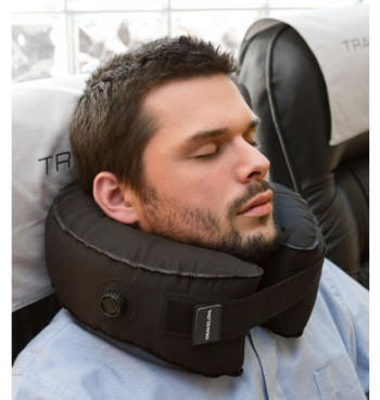 travel neck pillow invented by neurosurgeon free shipping. Black Bedroom Furniture Sets. Home Design Ideas
