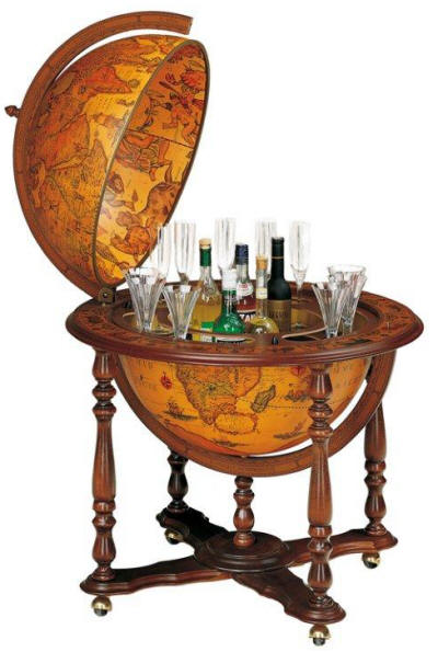 Large Portable 24 Quot Floor Bar Globe By Zoffoli Free Shipping